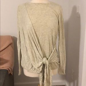 a new day side tie sweater